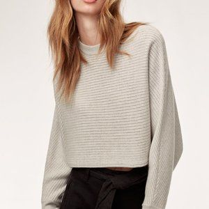 Aritzia Wilfred Lolan Sweater Light Grey (XXS-XS)
